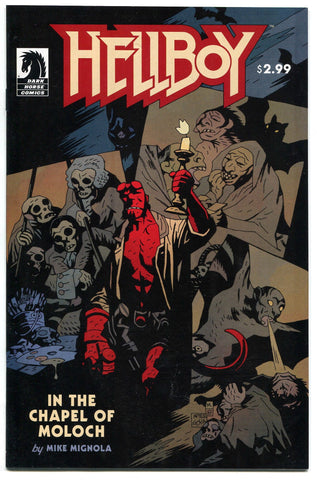 Hellboy: In the Chapel of Moloch One-Shot Comic Book Dark Horse 2008 NM - redrum comics