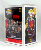 Funko POP! Hellboy in Suit SDCC 2018 Exclusive Figure with Official LE sticker - redrum comics