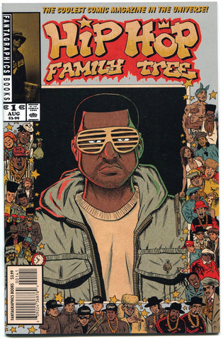 Hip Hop Family Tree #1 Comic NM 1st Print Kanye West Variant Cover Ed Piskor - redrum comics