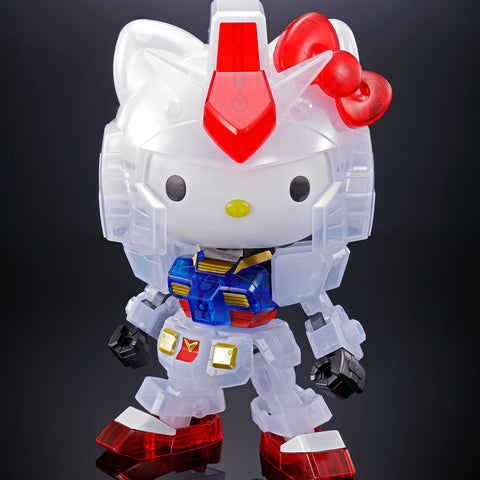 Bandai Hello Kitty/RX-78-2 Gundam SD EX-STANDARD Clear Color Event Limited Kit