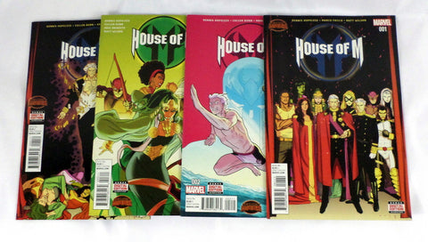 Marvel Comics House of M #1 2 3 4 Set Lot Secret Wars X-Men Magneto Wolverine - redrum comics