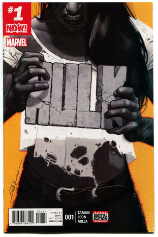 Hulk #1 High Grade 1st Print Marvel Now! Comics 2017 She-Hulk