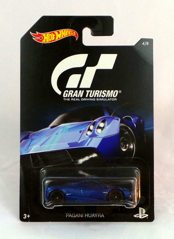 2016 Hot Wheels Gran Turismo #4 Blue Pagani Huayra