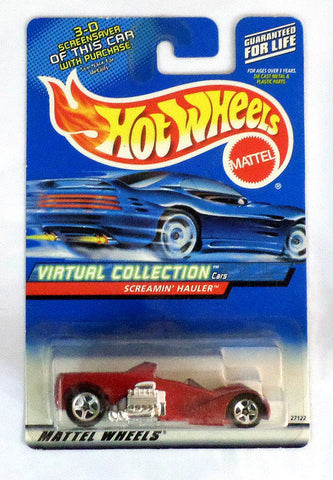 Hot Wheels Virtual Collection 2000 Screamin Hauler Die Cast Car - redrum comics