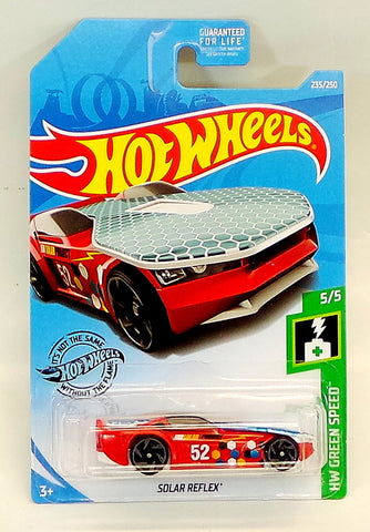 2019 HOT WHEELS Solar Reflex HW Green Speed 5/5, 235/250 [Red]