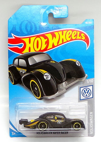 Hot Wheels #46 Volkswagen KAFER RACER Black Mooneyes 2019