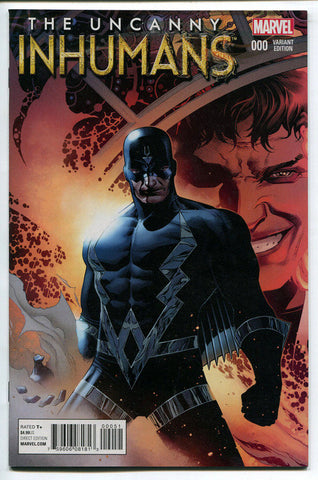 Uncanny Inhumans #0 Marvel Comics 2015 Jim Cheung 1:25 Variant Cover NM 000