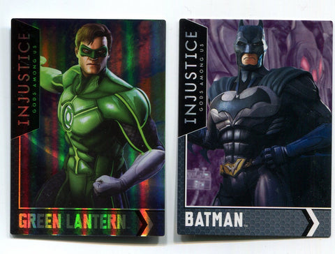 Green Lantern Injustice Series 2 Arcade Game HoloFoil Card Dave Busters w/Batman