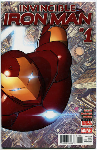 The Invincible IRON MAN #1 NM 2015