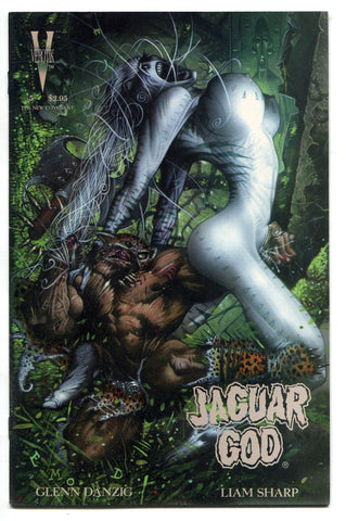 Jaguar God #5 1996 FINE Verotik Comics Glenn Danzig Liam Sharp