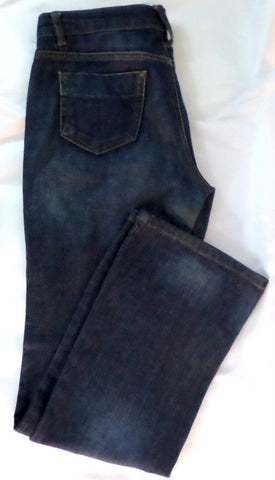 Womens Boot Cut Low Ride Fit Monsoon Jeans UK Size 8 Broken In