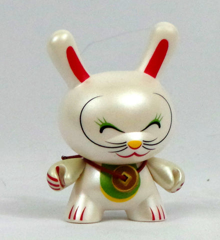 Kidrobot 3-inch Dunny Series 4 Mr Shane Jessup Lucky Cat Eyes Closed AS IS