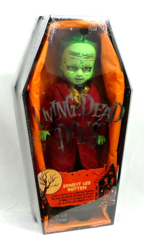 Mezco Living Dead Dolls Series 32 Halloween Ernest Lee Rotten New Sealed Coffin