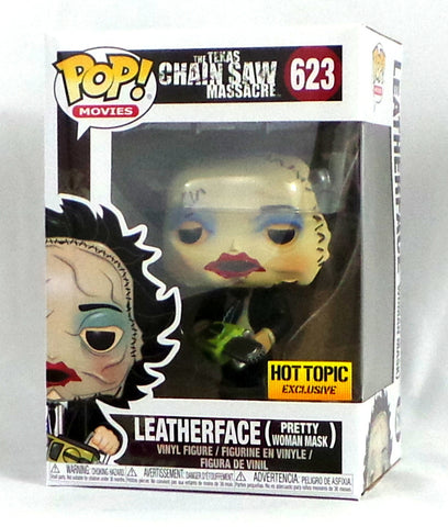 Funko Pop! Movies: Leatherface Pretty Woman Mask #623 Hot Topic Exclusive Figure