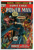 Luke Cage Power Man #18 VF+ 1st Steeplejack with MVS 1974 Marvel Netflix - redrum comics