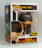 Funko Pop! Furiosa #508 Hot Topic Exclusive Figure Mad Max Fury Road AS IS - redrum comics