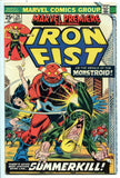 Marvel Premiere #24 featuring Iron Fist Very Fine MVS Stamp Intact Netflix