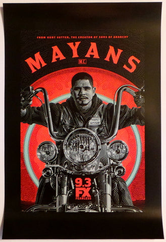 "SDCC 2019 Exclusive Mayans MC Season Two 11""x17"" Promo Poster Fox FX TV"
