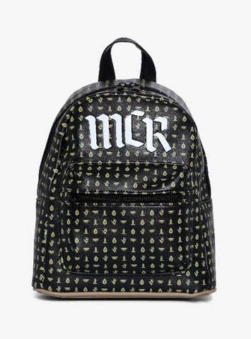 My Chemical Romance Icons Symbols Mini Backpack New with Tags MCR