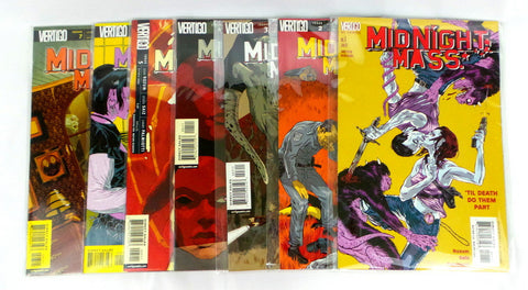 MIDNIGHT MASS 1-7 set lot run DC Vertigo Comics 2002 VF/NM John Rozum