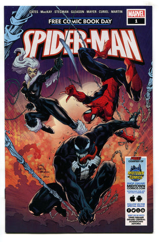 Free Comic Book Day 2020 Spider-Man Venom #1 NM Cates 1st Virus Midtown FCBD