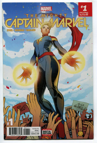Mighty Captain Marvel #1 2017 Torque Variant NM Carol Danvers Ms Marvel