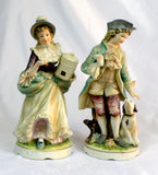 "Classic Gallery Collection Country Gentleman and Lady Figurines 8"" C-6639 EUC - redrum comics"