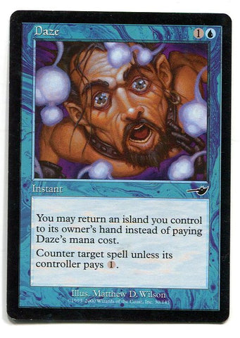 Magic the Gathering Daze x1 Nemesis Unplayed Common HOT Card MTG - redrum comics