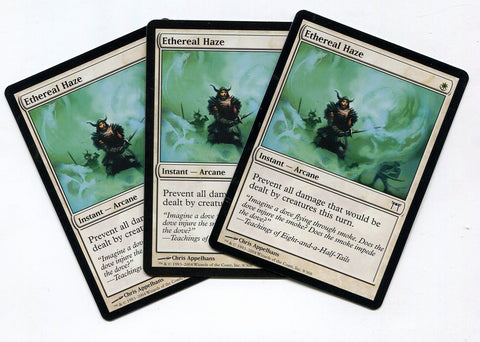 Magic the Gathering Ethereal Haze x3 Champions of Kamigawa Unplayed Common MTG - redrum comics