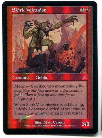 Magic the Gathering Skirk Volcanist x1 FOIL Scourge Unplayed UnCommon Card MTG - redrum comics