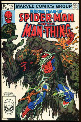 Marvel Team-Up #122 Spider-Man and the Man-Thing 1982 VF+ - redrum comics