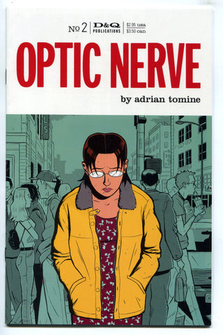 Optic Nerve #2 Adrian Tomine 1995 Drawn and Quarterly 1st Print