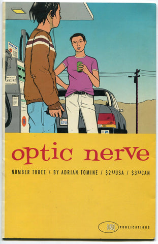 Optic Nerve #3 Adrian Tomine 1996 Drawn and Quarterly