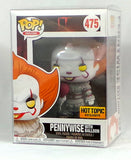 Funko Pop! IT Pennywise with Balloon Hot Topic Exclusive Yellow Eyes w/Protector