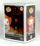 Funko Pop! IT Pennywise with Balloon Hot Topic Exclusive Yellow Eyes w/Protector - redrum comics