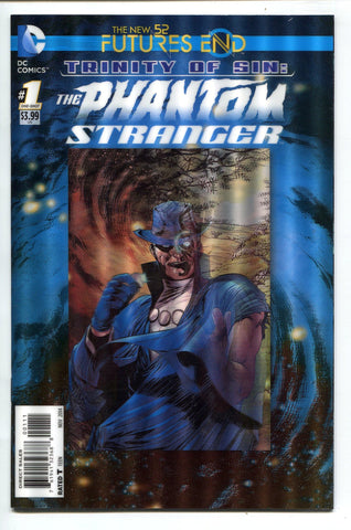 Phantom Stranger #1 One Shot 3D Lenticular Cover DC Comics Futures End New 52 - redrum comics