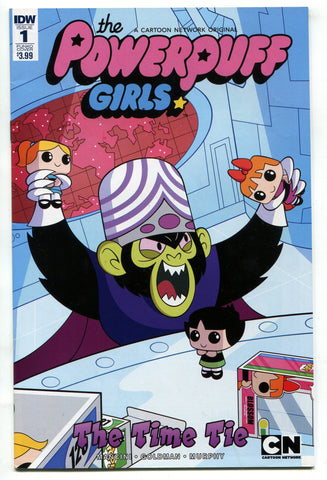Powerpuff Girls Time Tie #1 (Of 3) Funko Art Variant Comic Book IDW 2017