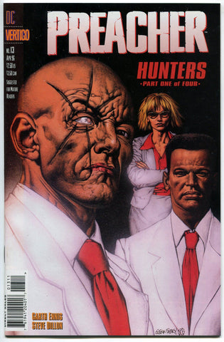 Preacher #13 1st Appearance of Herr Starr VF Garth Ennis DC Vertigo AMC TV