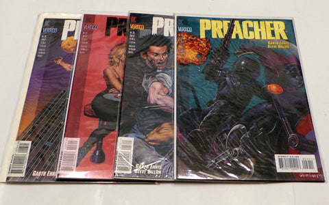 Preacher 26 27 28 29 VF/NM Lot 1st Amy Grinderbinder Origin Cassidy Garth Ennis