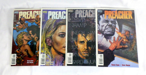 Preacher 49 50 52 54 NM Lot Set Jesse and Tulip re-unite Garth Ennis AMC TV - redrum comics