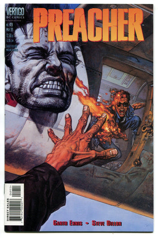 Preacher #49 NM The Almighty eats Jesse's Eye Garth Ennis Steve Dillon AMC TV - redrum comics