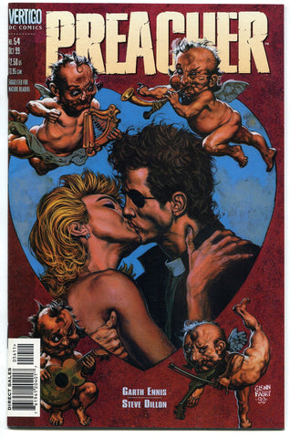 Preacher #54 Fine Jesse and Tulip Reunited Garth Ennis Steve Dillon AMC TV