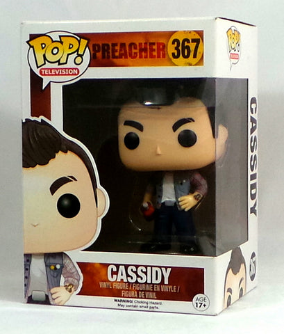 Funko Pop! TV Preacher The Vampire Cassidy #367 Vinyl Figure AS IS