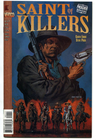 DC Vertigo Special Preacher Saint of Killers #1 (of 4) 1996 Garth Ennis VF/NM - redrum comics