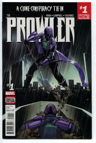 Prowler #1 - Clone Conspiracy Tie-In (Marvel, 2016) VF/NM Spider-Man