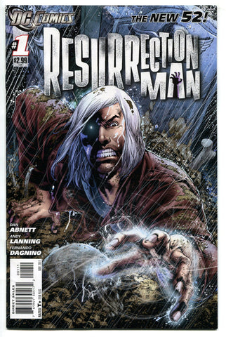 Resurrection Man #1 NM New 52 2011 DC Comics - redrum comics