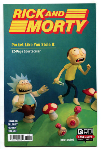 Rick And Morty Pocket Like You Stole It #1 Nintendo Power Gen Con Variant VF/NM