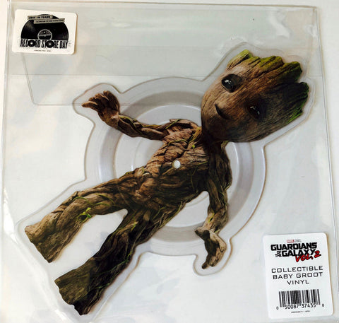 "Guardians of the Galaxy Baby Groot 11"" picture disc RSD Black Friday 2017 GOTG - redrum comics"