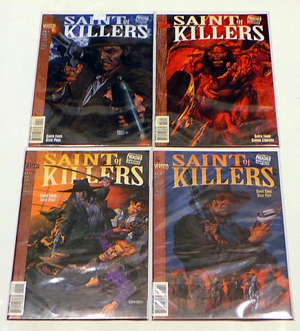 Preacher Special The Saint of Killers #1 2 3 4 VF/NM Lot Set Run Garth Ennis AMC TV