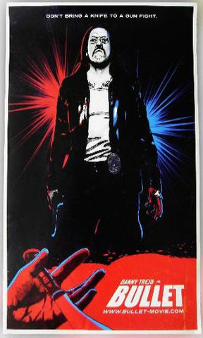 "Bullet 11""x17"" Movie Poster Danny Trejo SDCC 2013 exclusive Shepard Fairey Style - redrum comics"